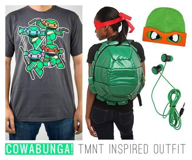 Totally Rad TMNT Inspired Outfit | Stephanie Drenka