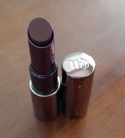 "Review: Urban Decay Revolution Lipstick in ""Shame"" 