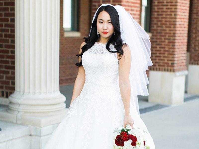 Old Hollywood Glam Wedding Makeup | Stephanie Drenka