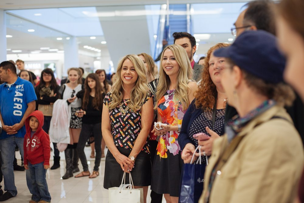 YouTube sensations, eleventhgorgeous made a special appearance at Girls' Night Out