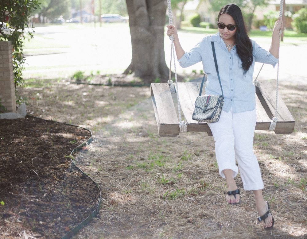 Sunday Chambray | Stephanie Drenka