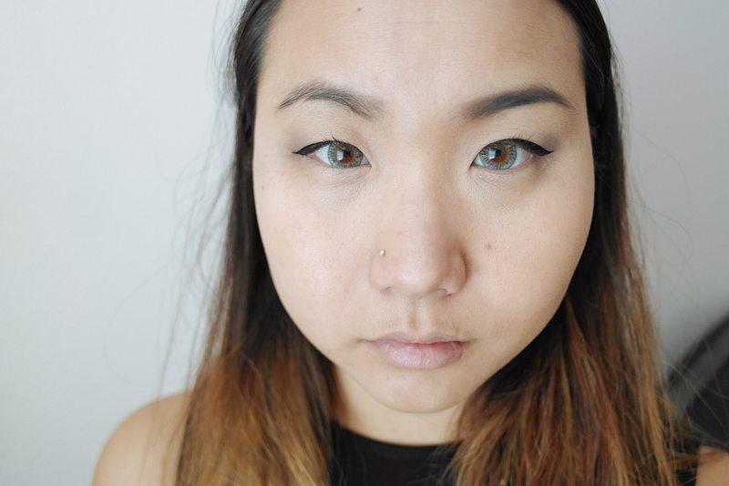 Natural Light with Eye Makeup