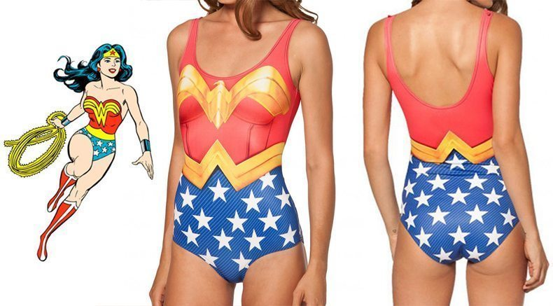 Giveaway: Wonder Woman Swimsuit | Stephanie Drenka