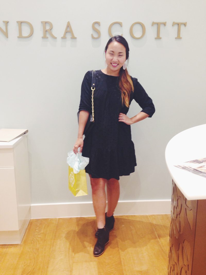 OOTD Kendra Scott rewardStyle