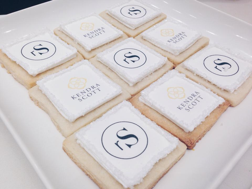 rewardStyle + Kendra Scott cookies made by Layered Bake Shop