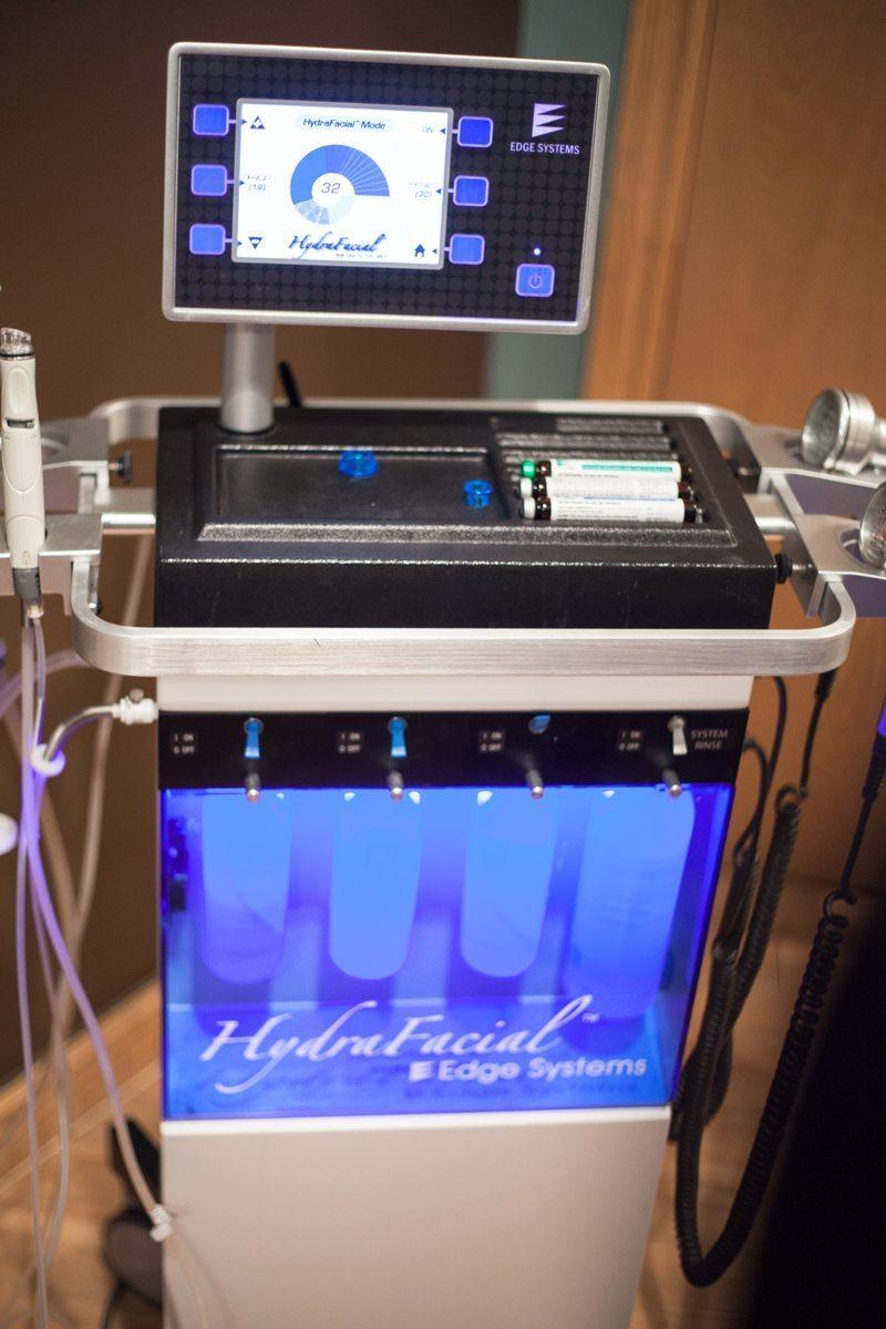 The amazing Hydrafacial machine
