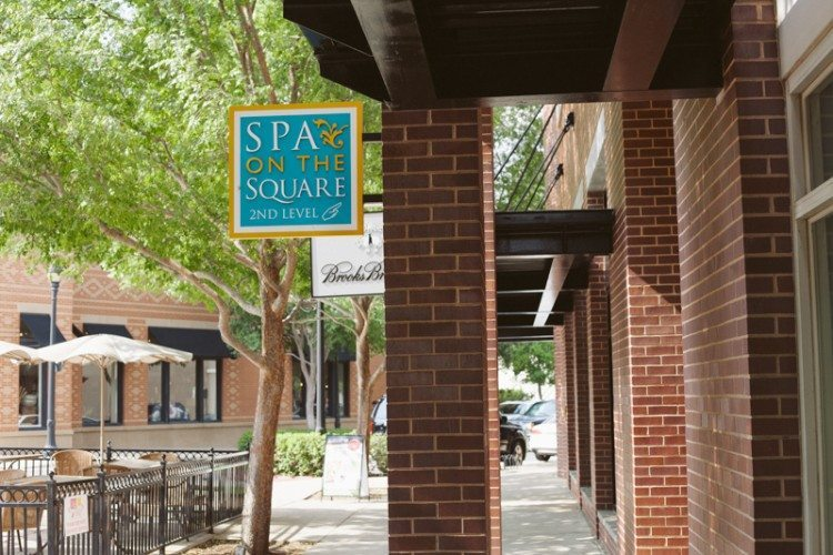 Spa on the Square is located at 1422 Main St in Southlake Town Square