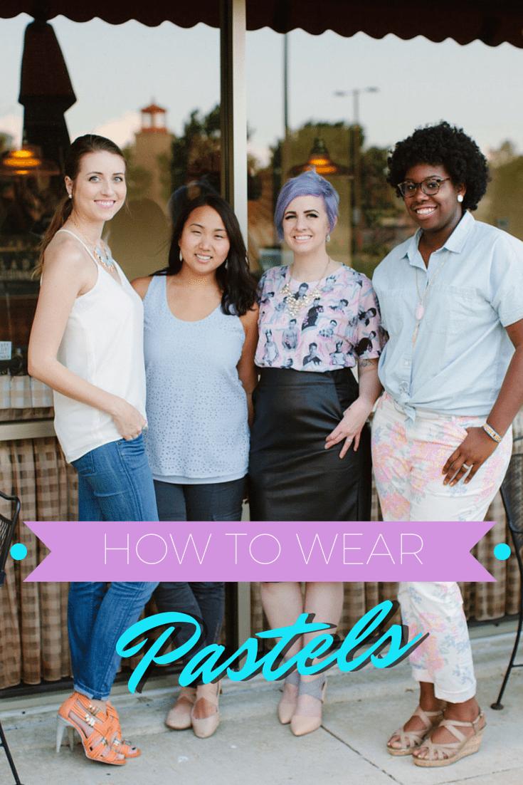 Diversity Chic: Spring Pastels | Stephanie Drenka