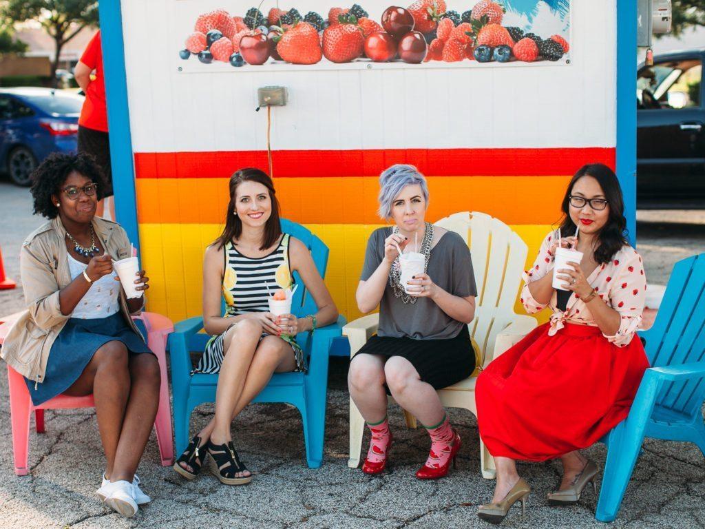 fruit fashion trend diversity chic dallas bloggers