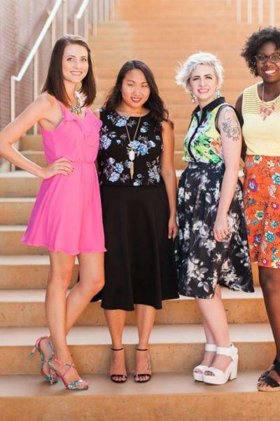 Diversity Chic: Floral Print With Sandals   Stephanie Drenka