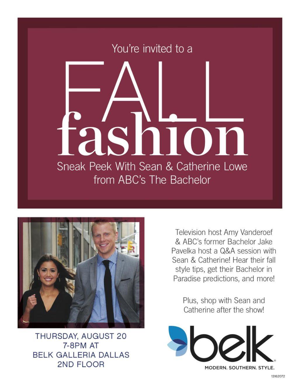 Belk Fall Fashion Preview