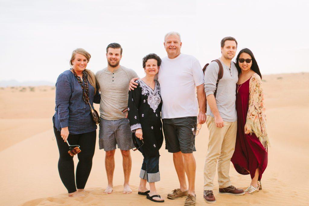 family-desert