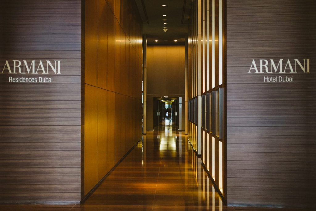 Armani hotel dubai stephanie drenka Armani hotel in burj khalifa