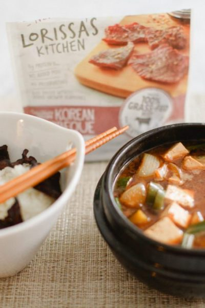 Doenjang Jjigae Recipe Featuring Lorissa's Kitchen | Stephanie Drenka