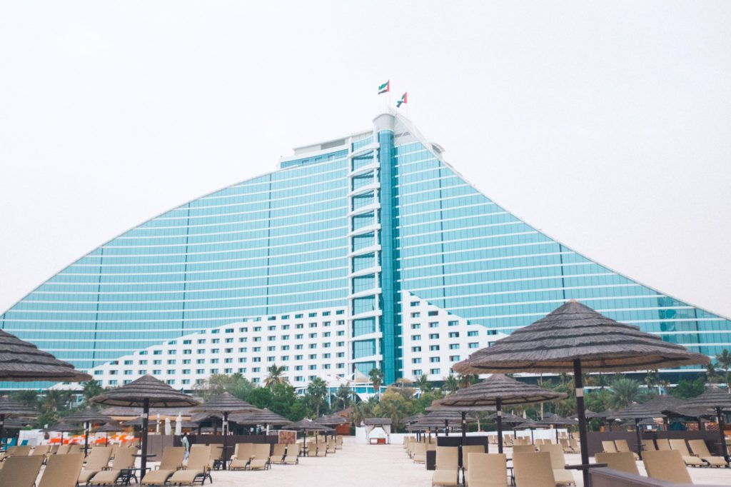Jumeirah beach hotel burj al arab for Dubai beach hotels cheap