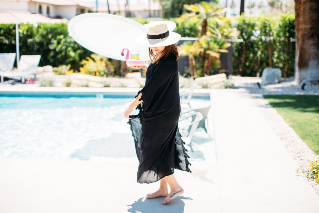 Poolside in Palm Springs | Stephanie Drenka