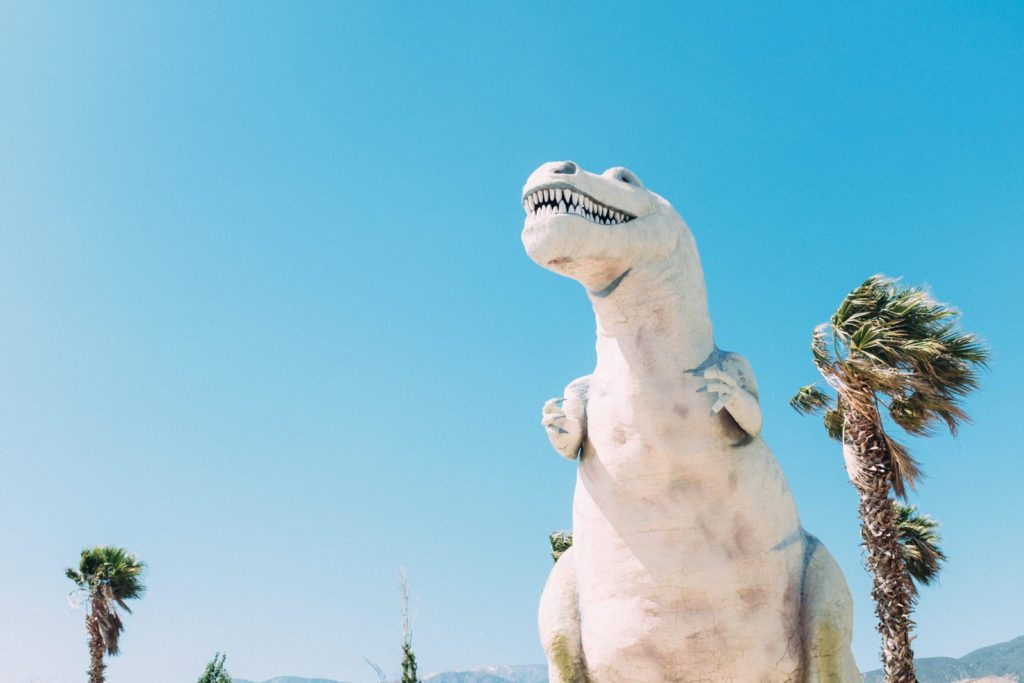 The Cabazon Dinosaurs | Stephanie Drenka