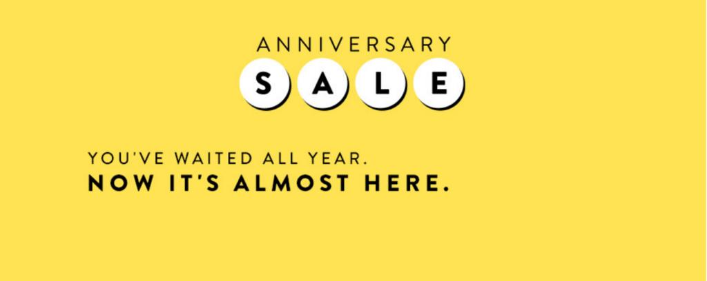 Nordstrom Anniversary Sale 2016
