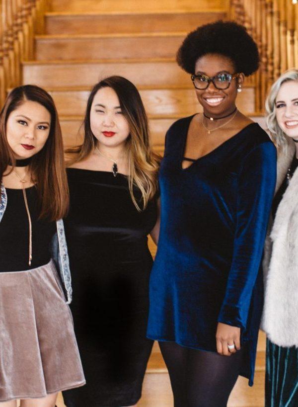 Diversity Chic: A Touch of Velvet