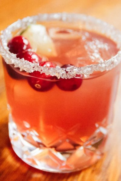 Holiday Cocktail: Cranberry Margarita | Stephanie Drenka