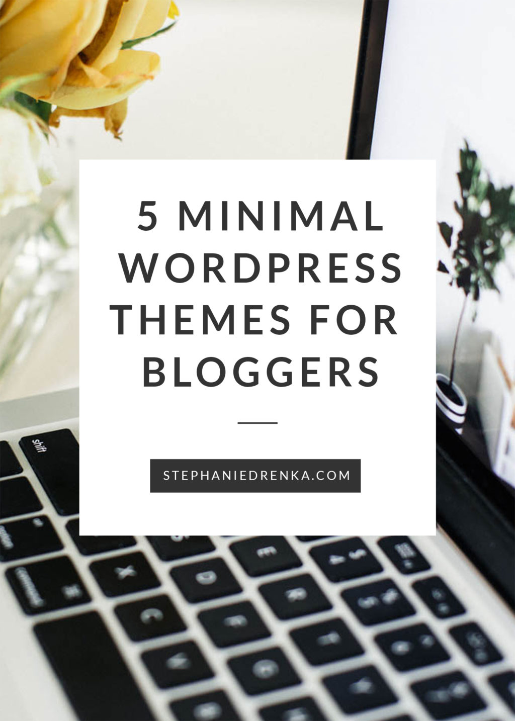 Minimalist blog designs help keep the focus on your content. They also tend to have clean code, less bulky graphics, and load faster (which helps with SEO)!