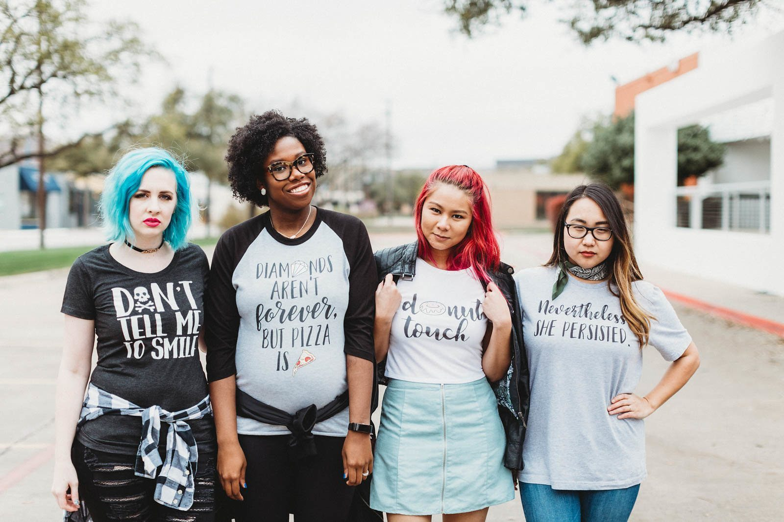"""Everyday Unicorns is a """"cute + quirky feminist apparel"""" brand created by Valery Brennan"""