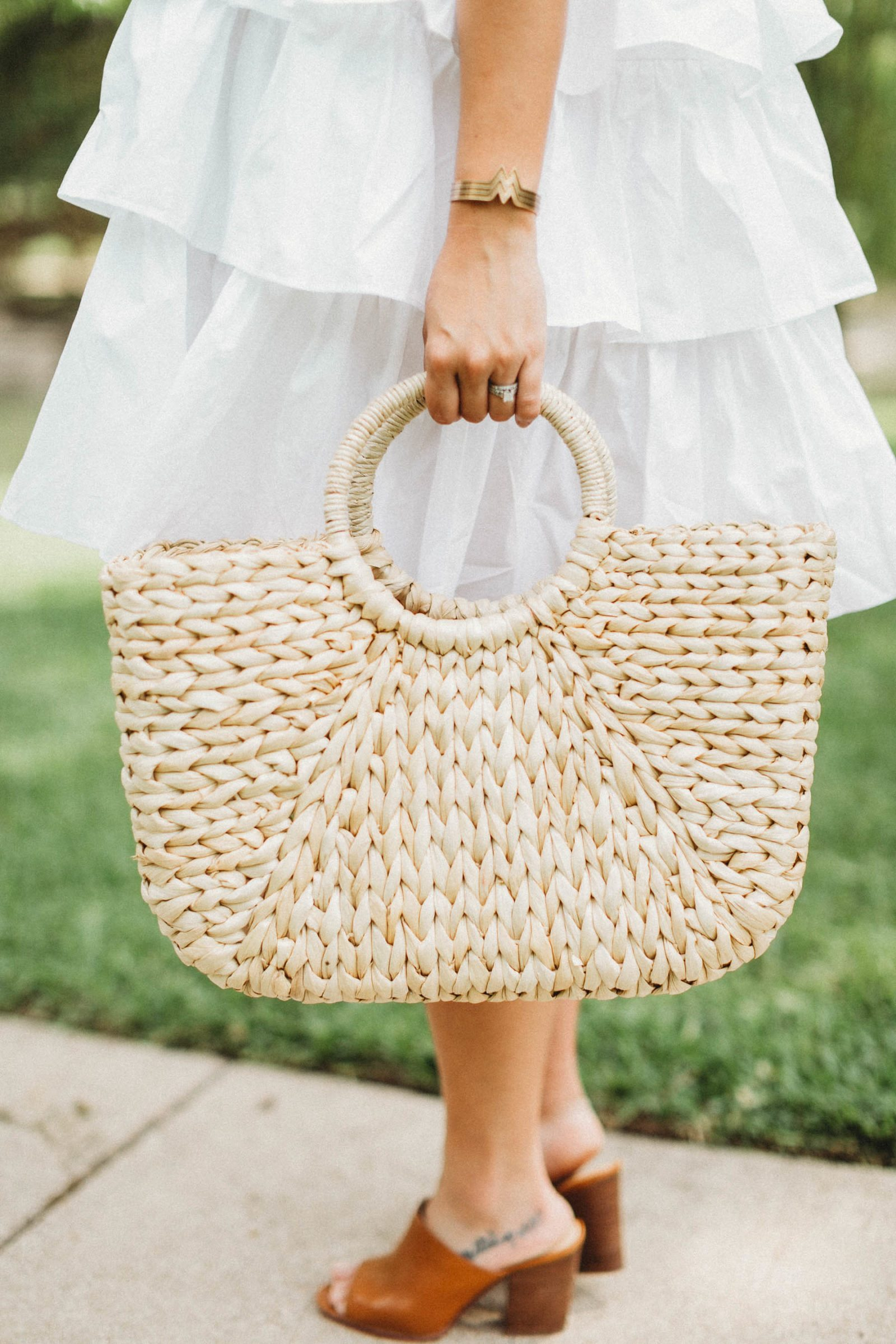 Straw Tote Bag from Hat Attack