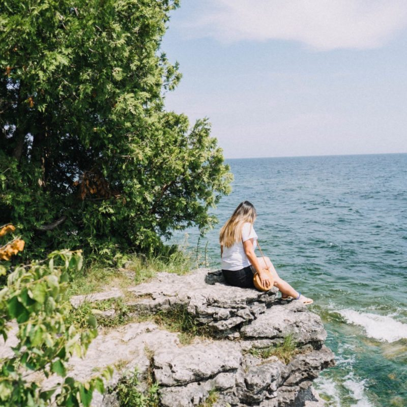 Door County Travel Guide: Cave Point County Park