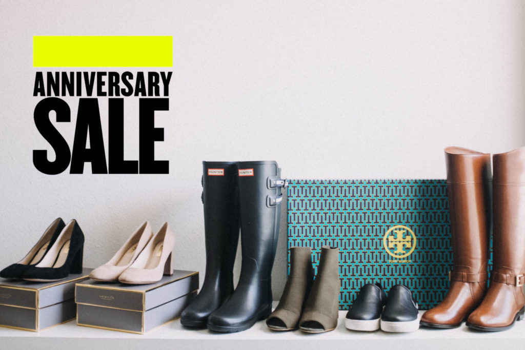 Nordstrom anniversary sale if the shoe fits