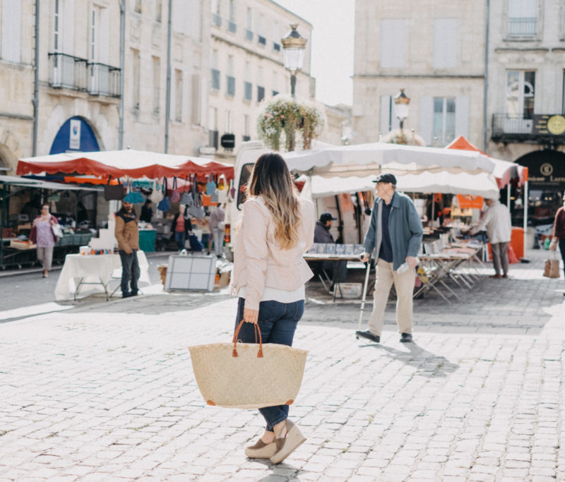 Market Day in Libourne