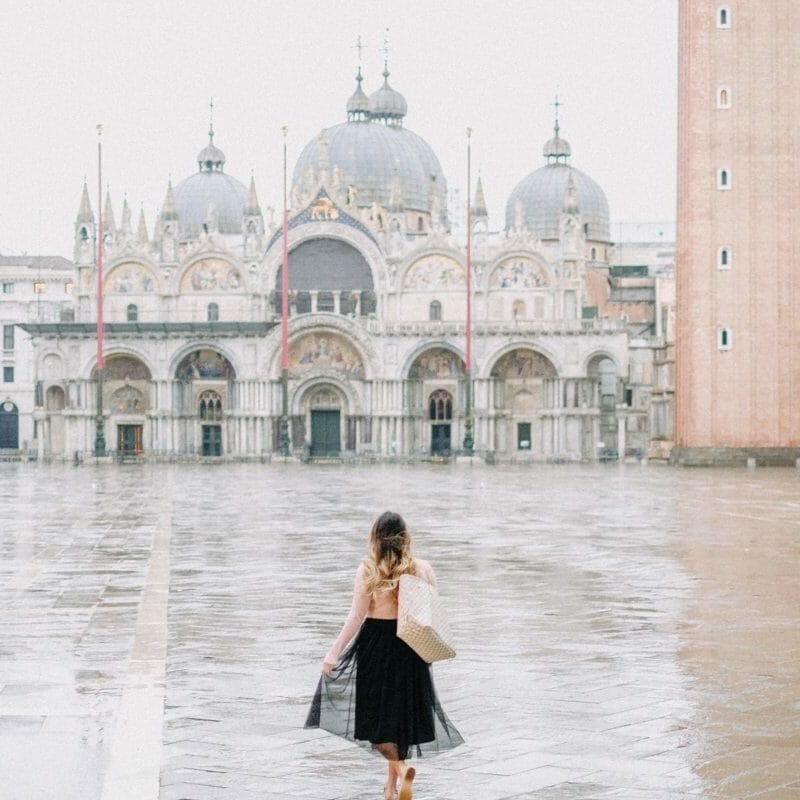 Early Mornings in Piazza San Marco