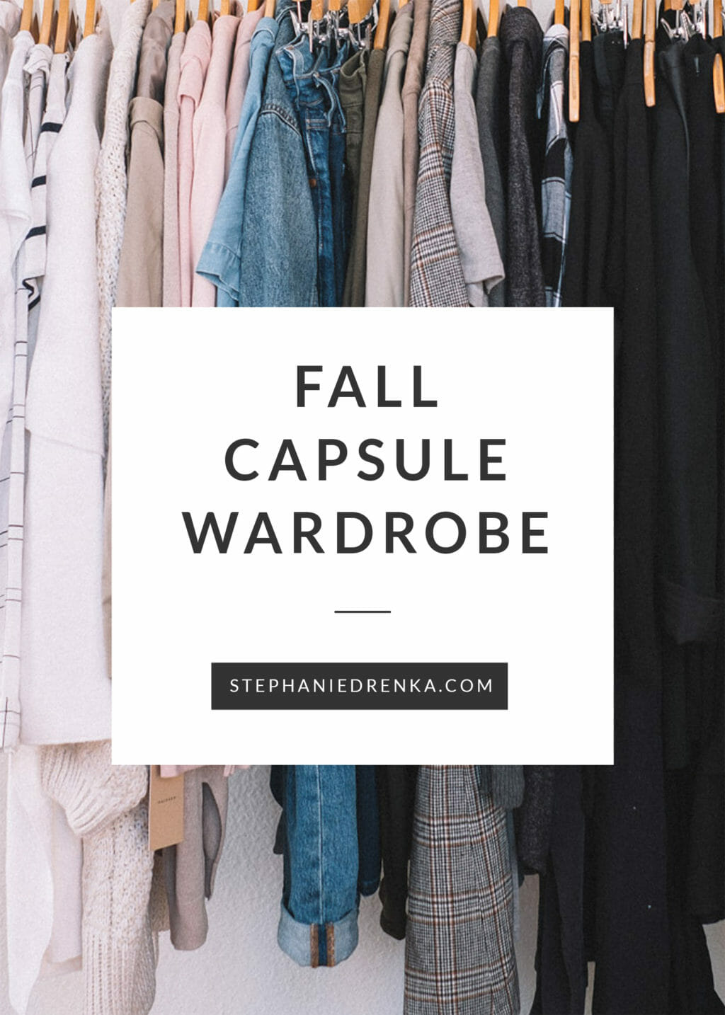 Fall Capsule Wardrobe From H M: Fall Capsule Wardrobe For 2018