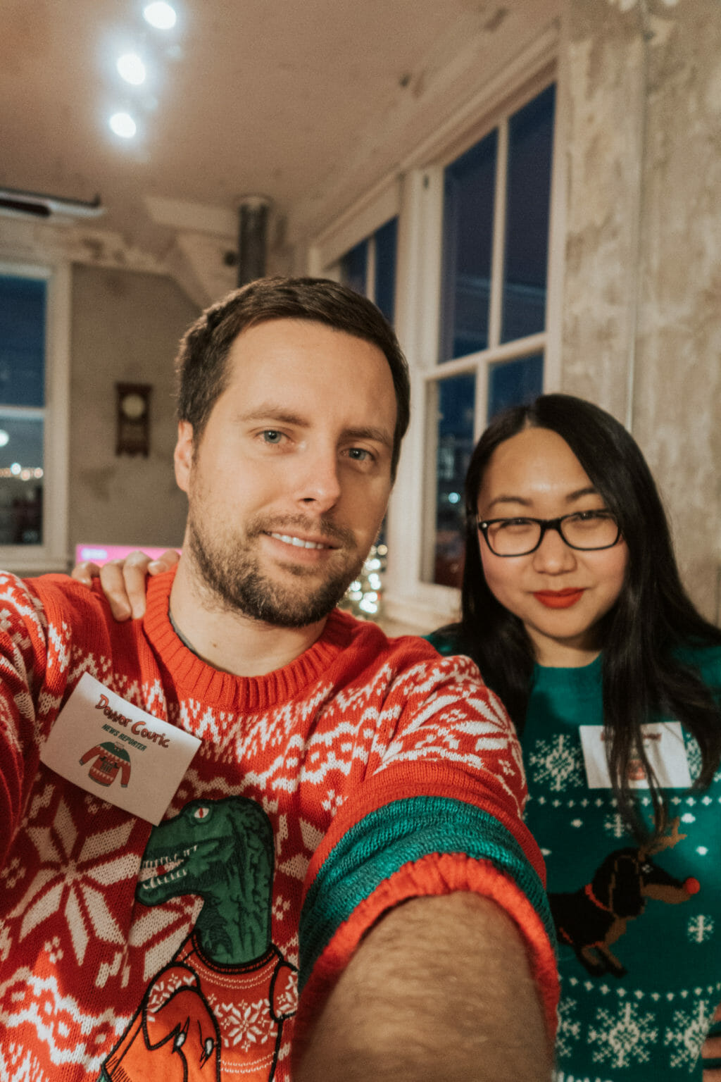 Murder Mystery Dinner - Ugly Sweater Christmas Party