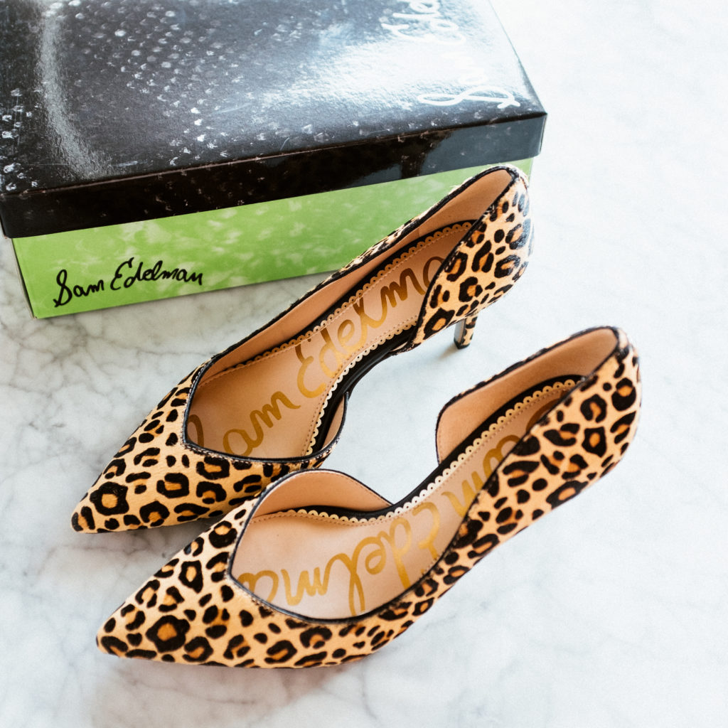Sam Edelman Leopard Print Pumps from the 2019 Nordstrom Anniversary Sale